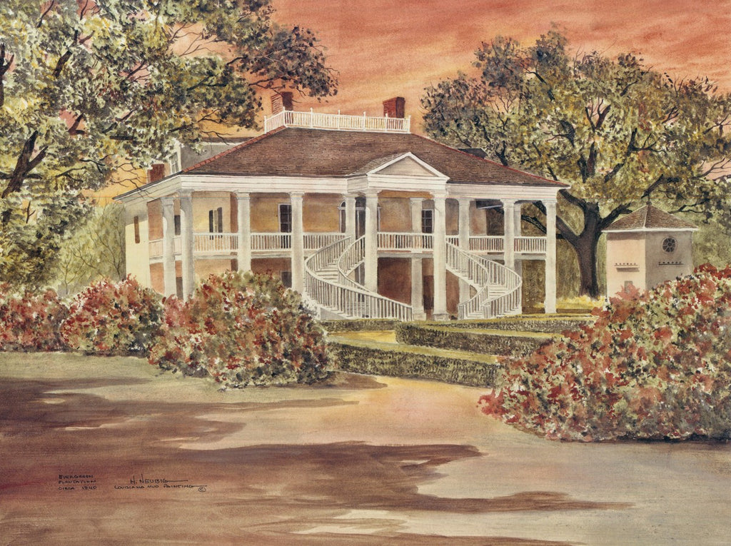 Evergreen Plantation | Louisiana Mud Paintings
