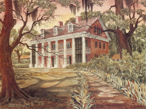 Shadow on the Teche Plantation