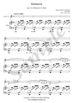 C.F. Gounod, Ave Maria, sheet music for trumpet and piano