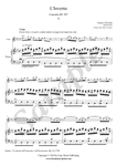 A. Vivaldi, Largo from Winter Concerto, violin and piano sheet music