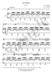 F. Schubert, Ave Maria, Treble Recorder and Piano sheet music