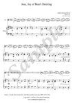 J.S. Bach, Jesu, Joy of Man's Desiring, Viola and Piano sheet music