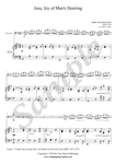 Bach, Jesu Joy of Man's Desiring, cello and piano sheet music