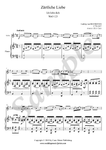 Beethoven, Ich liebe dich, violin and piano sheet music