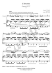 A. Vivaldi, Largo from Winter Concerto, cello and piano sheet music