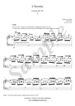 A. Vivaldi, Largo from Winter Concerto, piano sheet music
