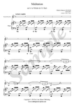 C.F. Gounod, Ave Maria, sheet music for soprano recorder and piano