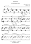 C.F. Gounod, Ave Maria, sheet music for cello and piano