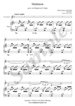 C.F. Gounod, Ave Maria, sheet music for saxophone and piano