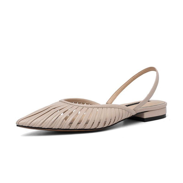 Flat And Simple Breathable Sexy Women's Sandals Mules