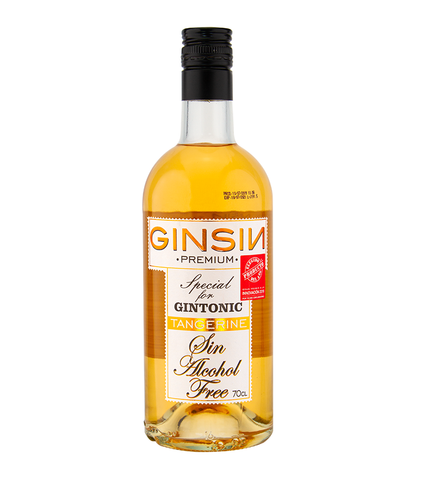 GinSin Tangerine  - Non-alcoholic alternative to Gin
