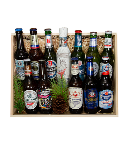 European NA Beer Sampler in Presentation Box