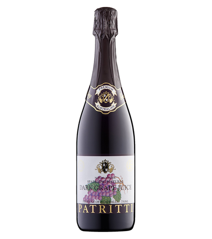 Patritti Sparkling Dark Grape Juice