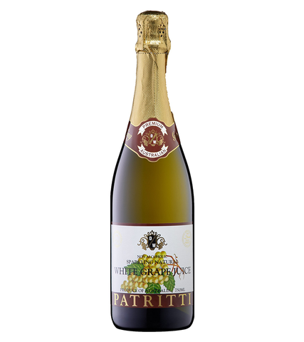 Patritti Sparkling White Grape Juice