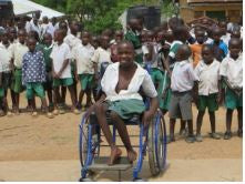 Ceiphers Clothing donates $1 to Nyaburi Integrated Primary School for children with disabilities in Kenya. Buy 1 item, give back $1.