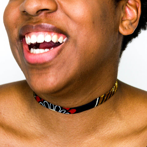 Tausi Choker Necklace