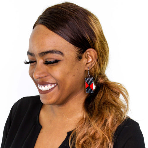 Rangi Rectangle Earrings