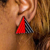 Rangi Triangle Earrings