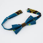 Kid's Dunia Bow Tie with Kitenge fabric from Ceiphers Clothing (3rd view)