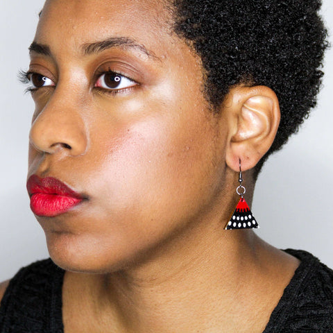 Nawiri Triangle Earrings from Ceiphers Clothing