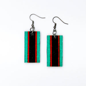 Bandera Rectangle Earrings