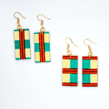 Load image into Gallery viewer, Tambo Rectangle Earrings