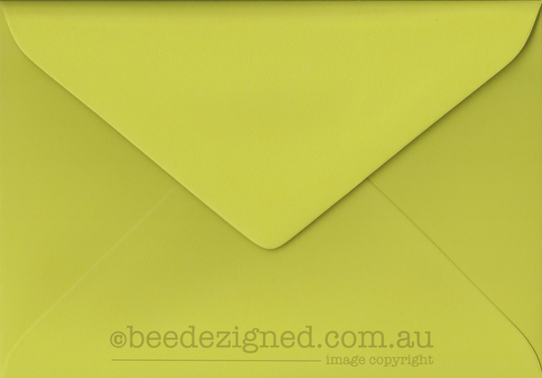 5 x 7 inch greeting card envelopes 130 x 185mm beedezigned paper 130x185mm envelopes spectrum lime green box m4hsunfo