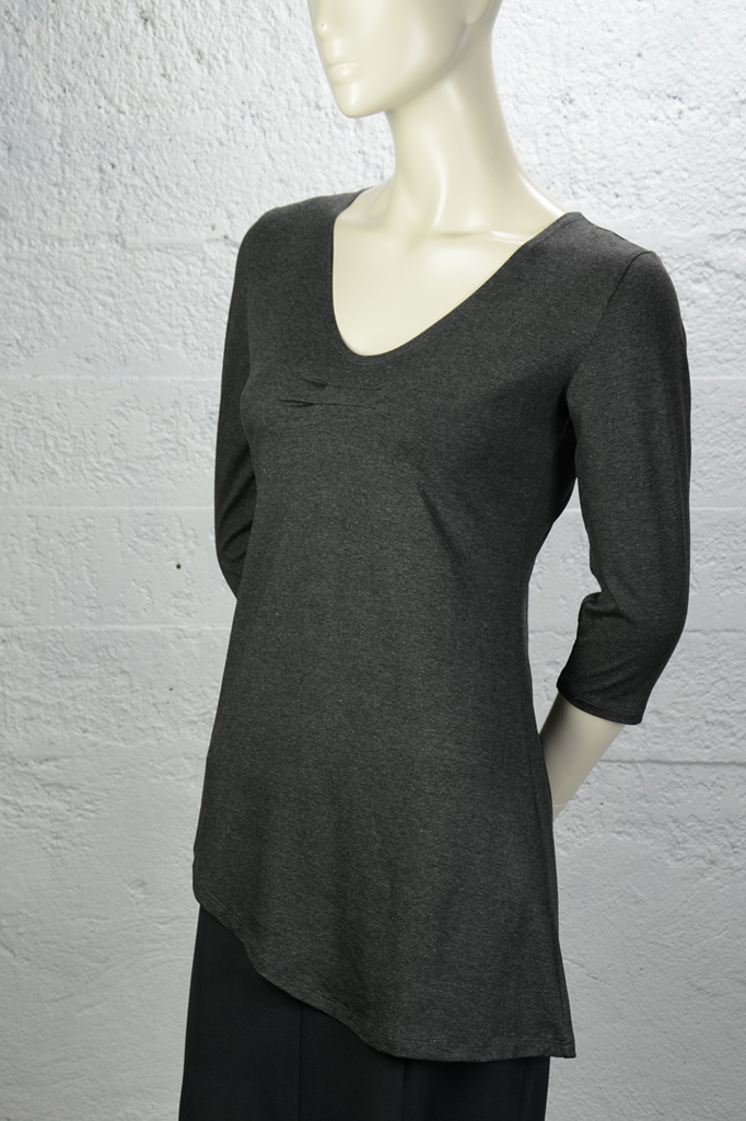 Adrienne Top - Charcoal