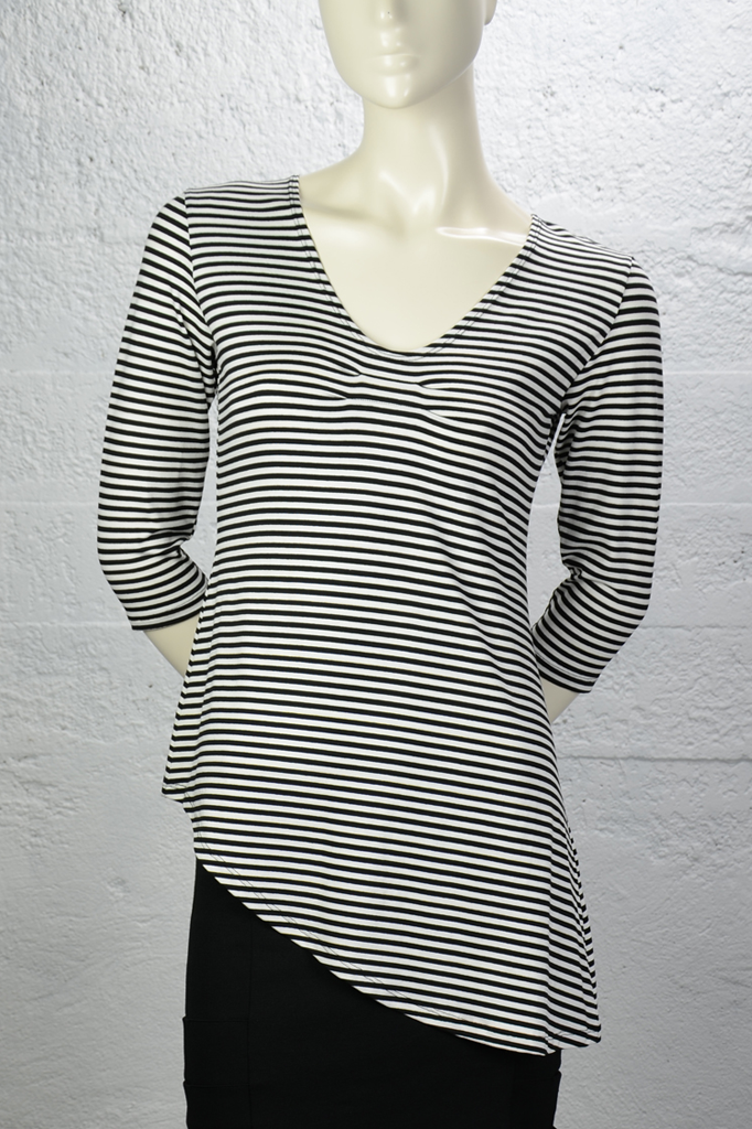 Black-White-Stripe