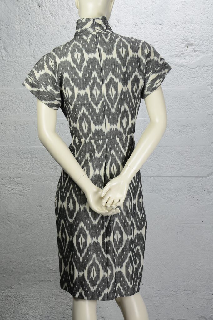 Cooper Dress - Diamond Print