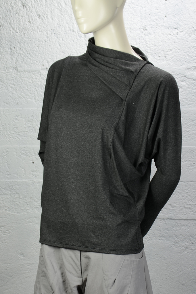 Effie Top - Charcoal