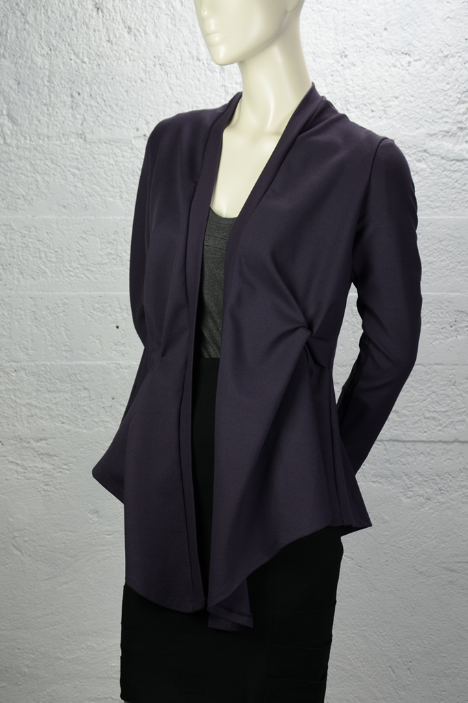 Josie Cardigan (Heavier Weight) - Plum