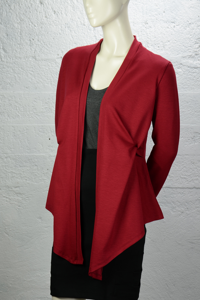 Josie Cardigan (Heavier-Weight) - Scarlet