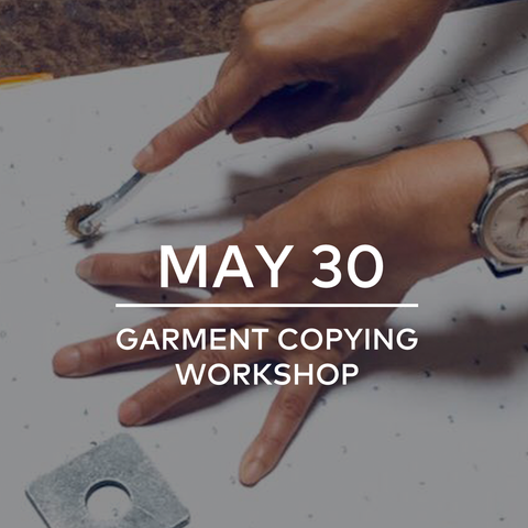 Workshop: Garment Copying