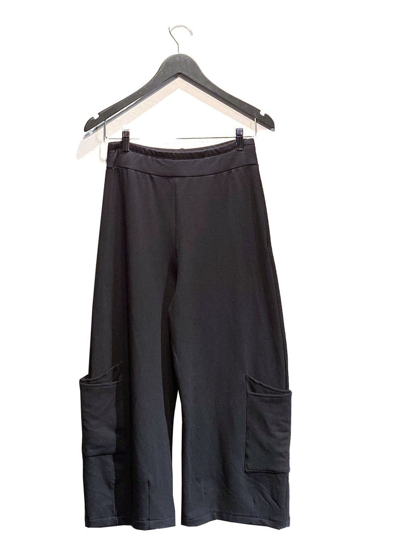 Cropped Dressy Sweatpant