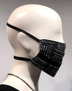 Reusable Mask - Black Dots (2-Pack)