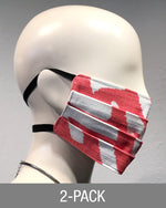 Reusable Mask - Coral Print (2-Pack)
