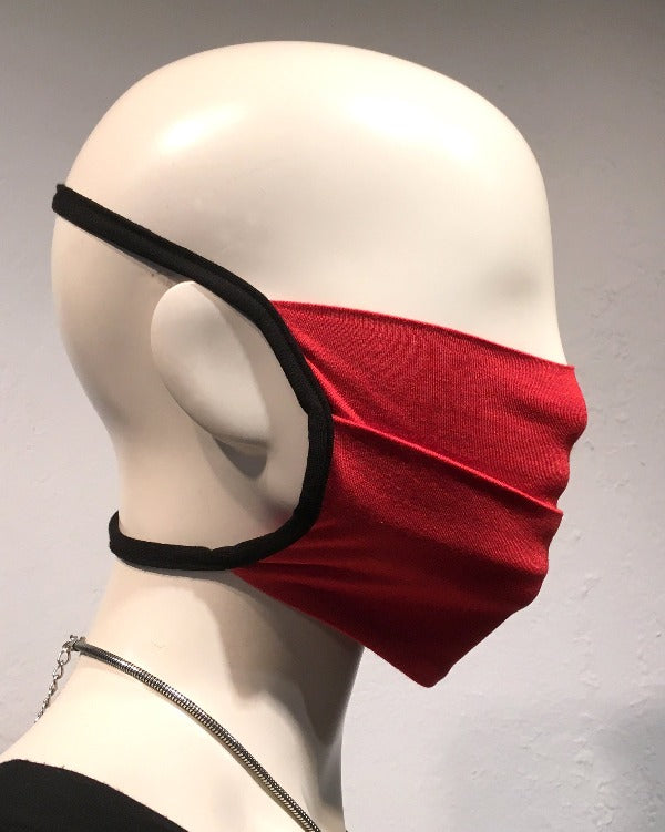 Reusable Mask - KNIT - Blood Orange  (4-Pack)