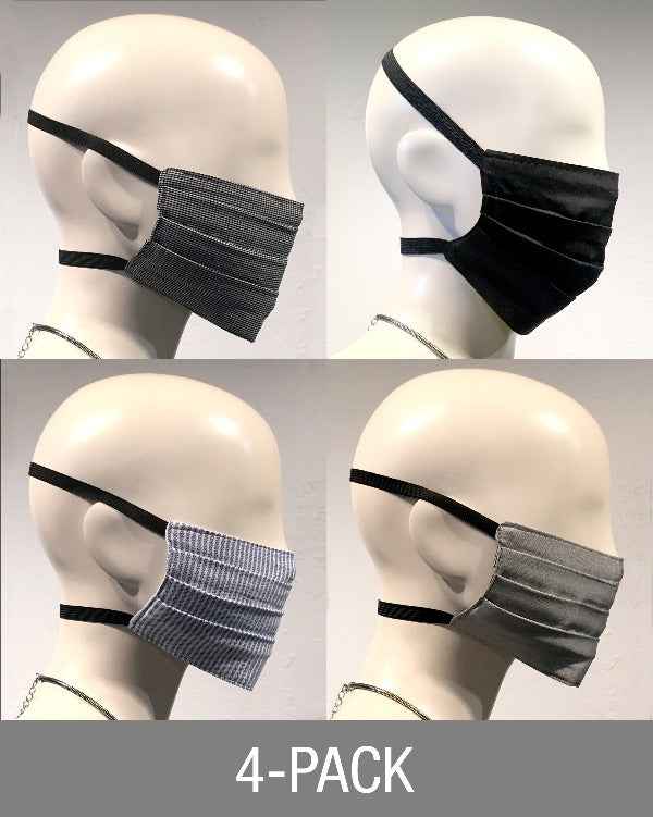 "Reusable Mask - Mixed  ""The Professional""  (4-Pack)"