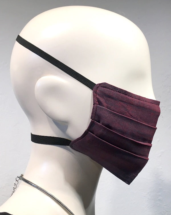 Reusable Mask - ORGANIC - Plum/Scarlett (2-Pack)