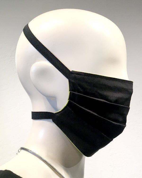 Reusable Mask - Black (4-Pack)