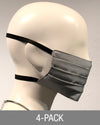 Reusable Mask - Grey (4-Pack)