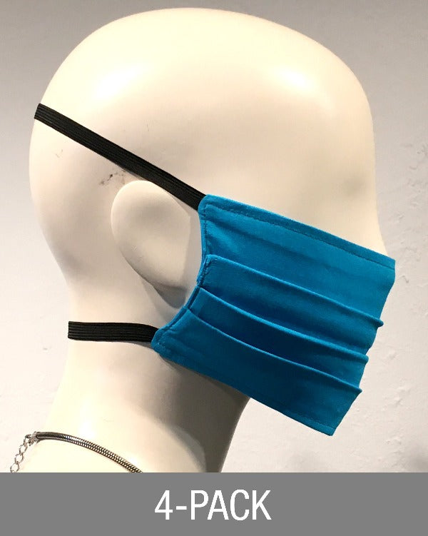 Reusable Mask - Turquoise (4-Pack)