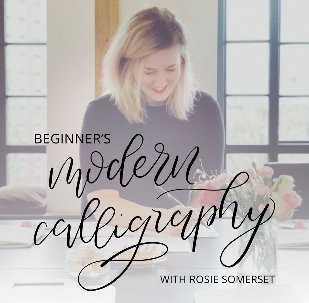 Introduction to Brush Calligraphy - 4th May 2019