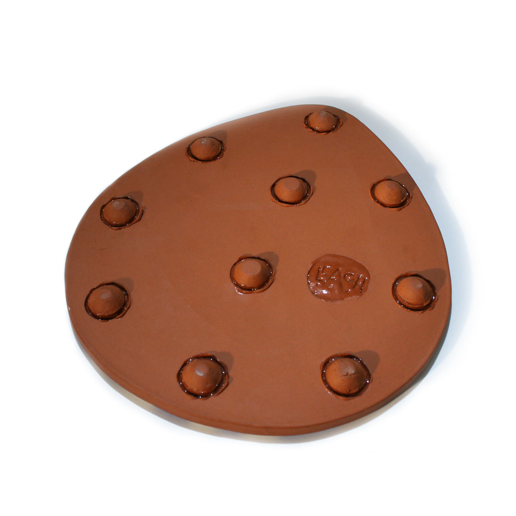 Teardrop Shaped Polka Dot Ceramic Platter