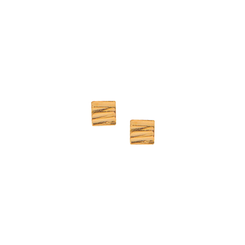 Allied Gold Square Studs
