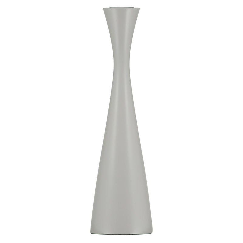 Tall Gull Grey Candleholder