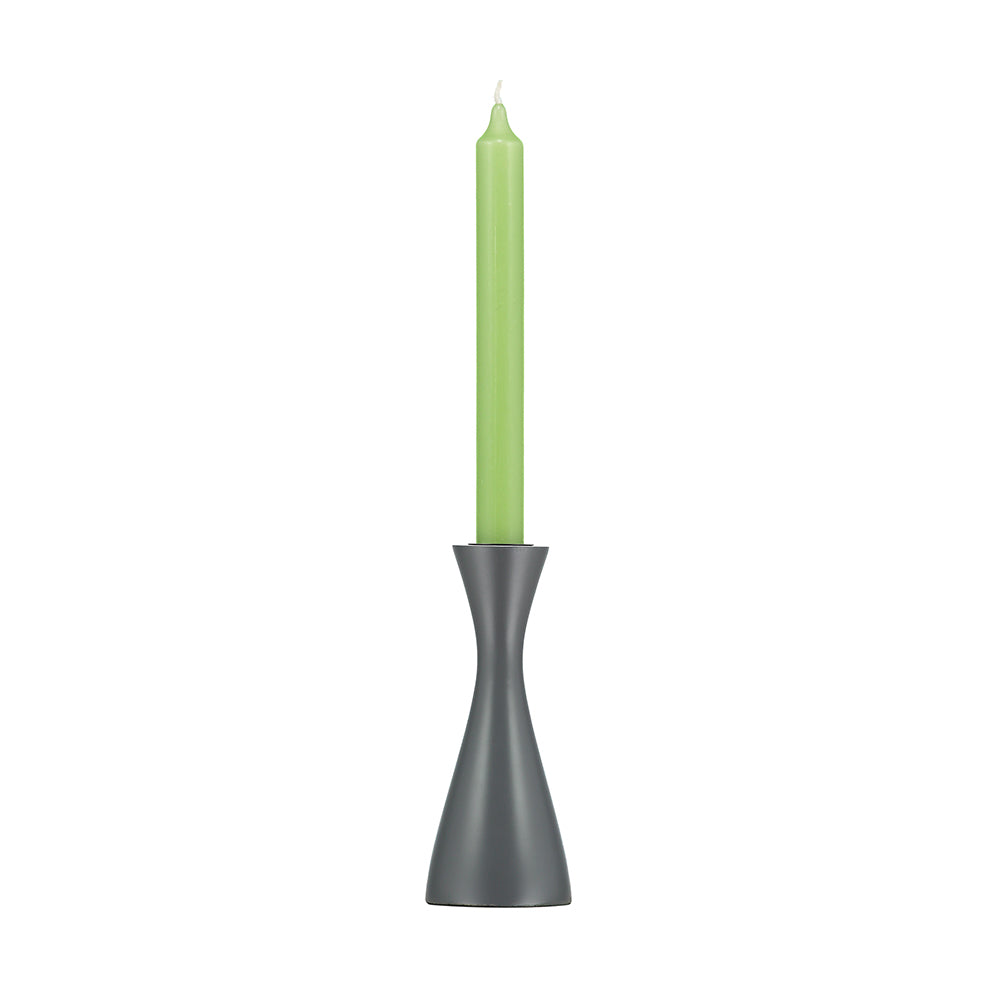 Medium Gunmetal Grey Candleholder