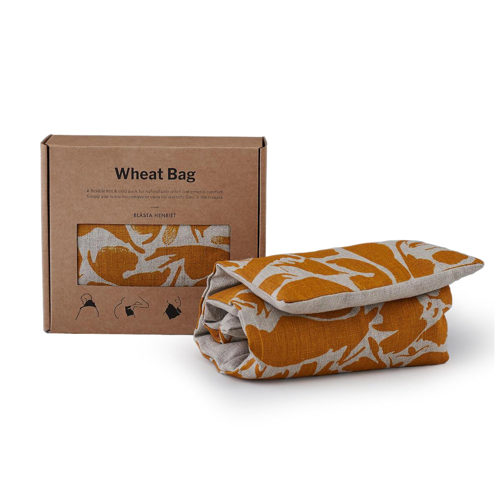 Heat/Pain Relief Wheat Bag - Yellow
