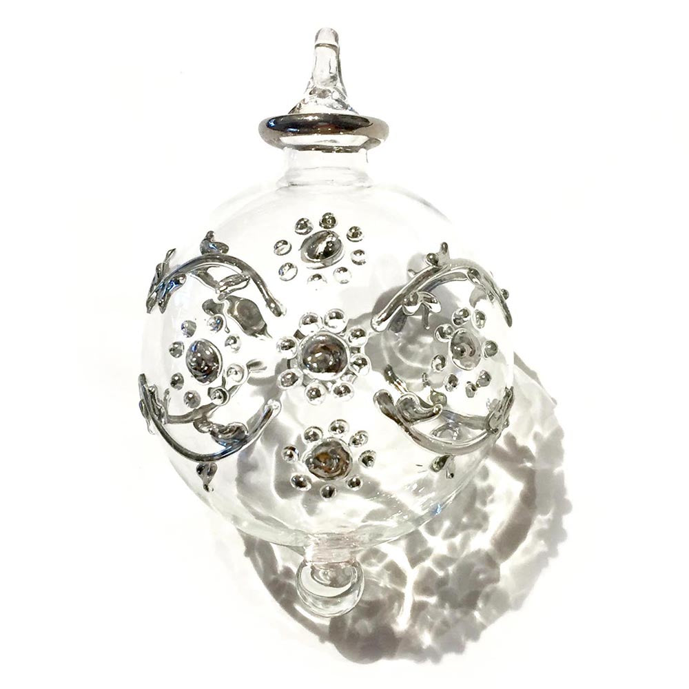 Bouquet Bauble in Silver